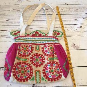 NWOT Embroidered Bag